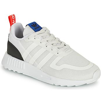 Boty Děti Nízké tenisky adidas Originals SMOOTH RUNNER C Bílá / Černá