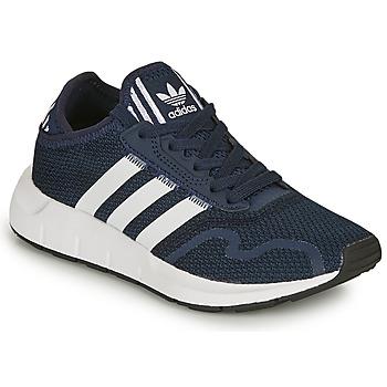 Boty Děti Nízké tenisky adidas Originals SWIFT RUN X C Tmavě modrá