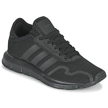 Boty Děti Nízké tenisky adidas Originals SWIFT RUN X J Černá