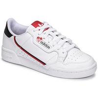 Boty Ženy Nízké tenisky adidas Originals CONTINENTAL 80 Bílá / Červená