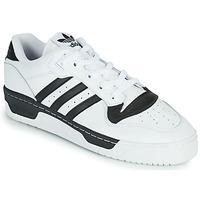Boty Nízké tenisky adidas Originals RIVALRY LOW Bílá / Černá