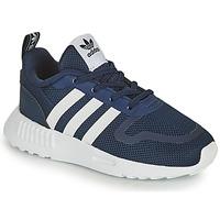 Boty Děti Nízké tenisky adidas Originals SMOOTH RUNNER EL I Tmavě modrá / Bílá