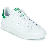 Boty Děti Nízké tenisky adidas Originals STAN SMITH C SUSTAINABLE Bílá / Zelená