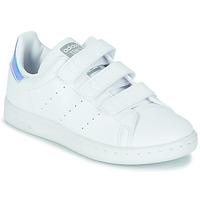 Boty Dívčí Nízké tenisky adidas Originals STAN SMITH CF C SUSTAINABLE Bílá