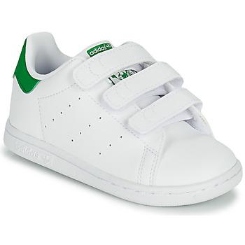 Boty Děti Nízké tenisky adidas Originals STAN SMITH CF I SUSTAINABLE Bílá / Zelená