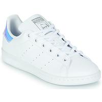 Boty Dívčí Nízké tenisky adidas Originals STAN SMITH J SUSTAINABLE Bílá