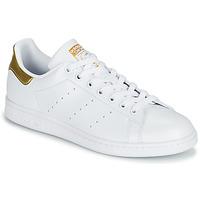 Boty Ženy Nízké tenisky adidas Originals STAN SMITH W SUSTAINABLE Bílá / Zlatá