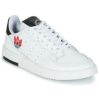 Boty Ženy Nízké tenisky adidas Originals SUPERCOURT Bílá / Černá