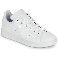 Boty Děti Nízké tenisky adidas Originals STAN SMITH J SUSTAINABLE Bílá