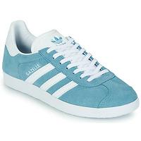 Boty Ženy Nízké tenisky adidas Originals GAZELLE W Modrá