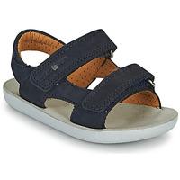 Boty Chlapecké Sandály Shoo Pom GOA BOY SCRATCH Modrá