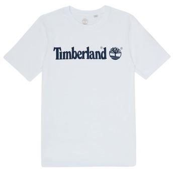 Textil Chlapecké Trička s krátkým rukávem Timberland FONTANA Bílá