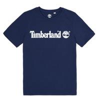 Textil Chlapecké Trička s krátkým rukávem Timberland VUILL Tmavě modrá