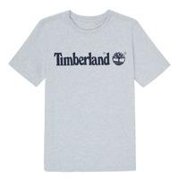 Textil Chlapecké Trička s krátkým rukávem Timberland NINNO Šedá