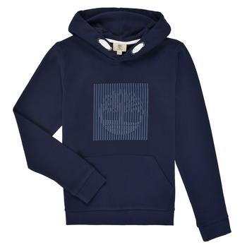Textil Chlapecké Mikiny Timberland MOMMO Tmavě modrá