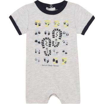 Textil Chlapecké Overaly / Kalhoty s laclem Timberland SUPLLI Šedá