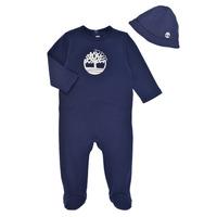 Textil Chlapecké Pyžamo / Noční košile Timberland HIPPI Tmavě modrá