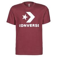 Textil Muži Trička s krátkým rukávem Converse STAR CHEVRON TEE Bordó