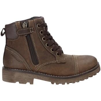 Boty Děti Kotníkové boty Geox J643DA 04554 Hnědý