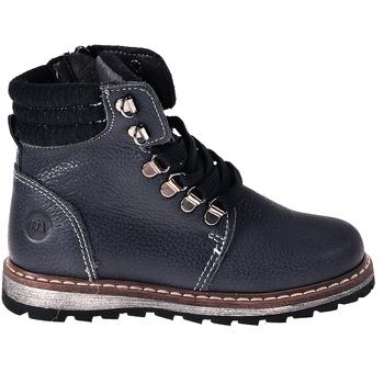 Boty Chlapecké Kotníkové boty Melania ME2627D8I.B Modrý
