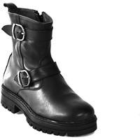 Boty Děti Kotníkové boty Asso 67961 Černá