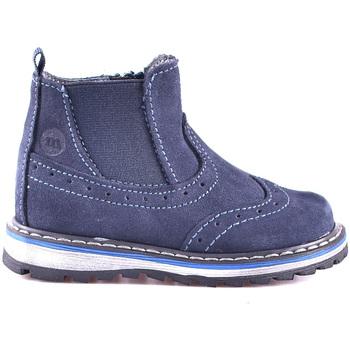 Boty Děti Kotníkové boty Melania ME1603B8I.D Modrý