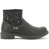 Boty Děti Kotníkové boty Lulu LL110015S Černá