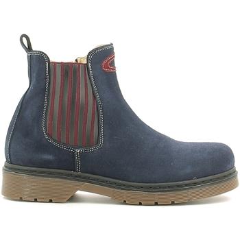 Boty Děti Kotníkové boty Alberto Guardiani GK22806G Modrý