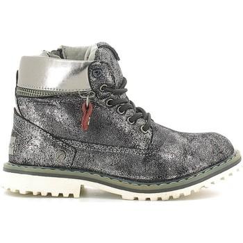 Boty Děti Kotníkové boty Wrangler WG16201B Stříbrný