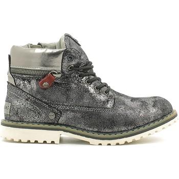 Boty Děti Kotníkové boty Wrangler WG16201K Stříbrný