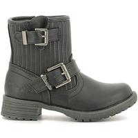 Boty Děti Kotníkové boty Wrangler WG16205B Černá