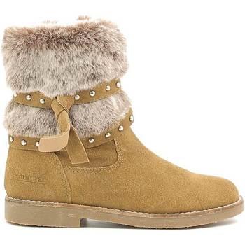 Boty Děti Zimní boty Naurora NA-640 Béžový