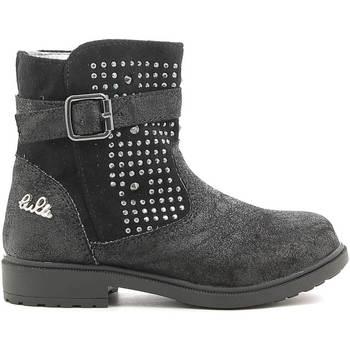 Boty Děti Kotníkové boty Lulu LL140006S Černá
