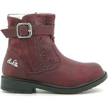 Boty Děti Kotníkové boty Lulu LL140006S Červené