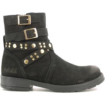 Boty Děti Kotníkové boty Holalà HL120008L Černá