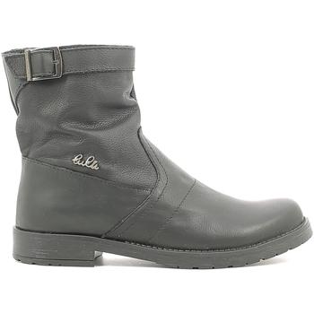 Boty Děti Kotníkové boty Lulu LL1000019L Černá