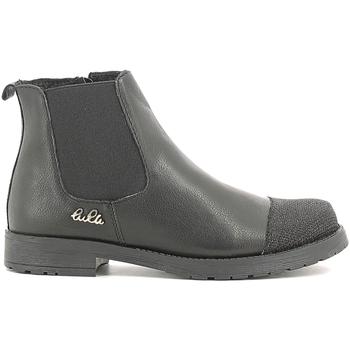 Boty Děti Kotníkové boty Lulu LL100022L Černá