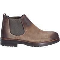Boty Muži Kotníkové boty Exton 695 Hnědý