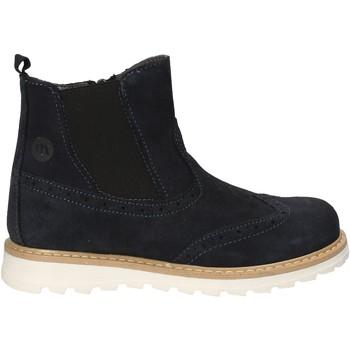 Boty Děti Kotníkové boty Melania ME6053F7I.D Modrý