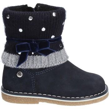 Boty Děti Kotníkové boty Melania ME1013B7I.C Modrý