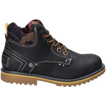 Boty Děti Kotníkové boty Wrangler WJ17210 Modrý