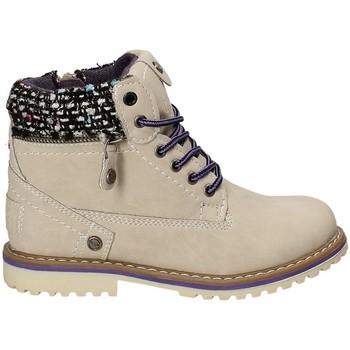 Boty Děti Kotníkové boty Wrangler WG17230 Béžový
