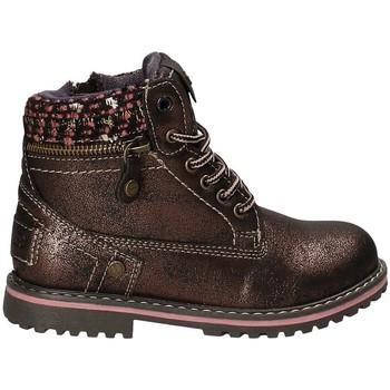 Boty Děti Kotníkové boty Wrangler WG17230 Hnědý