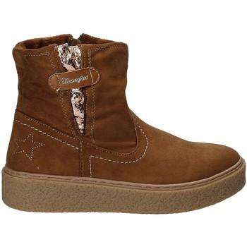 Boty Děti Kotníkové boty Wrangler WG17235 Hnědý