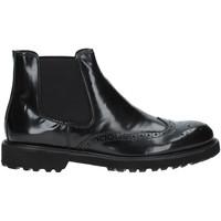 Boty Muži Kotníkové boty Exton 498 Černá