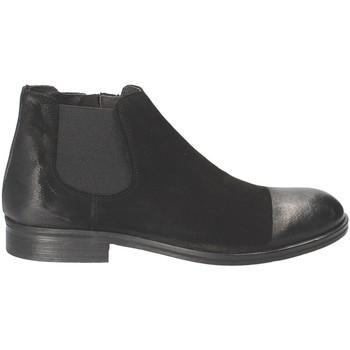 Boty Muži Kotníkové boty Exton 5357 Černá