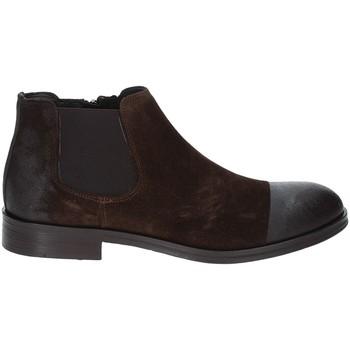 Boty Muži Kotníkové boty Exton 5357 Hnědý