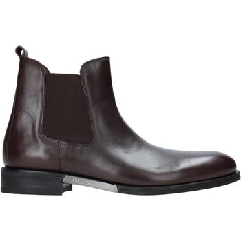 Boty Muži Kotníkové boty Guess FM8BOW LEA10 Hnědý