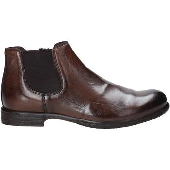 Boty Muži Kotníkové boty Exton 3117 Hnědý