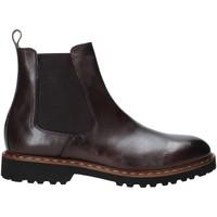 Boty Muži Kotníkové boty Exton 9059 Hnědý